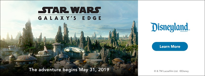 Disneyland Star Wars Galaxy's Edge. Click to learn more.